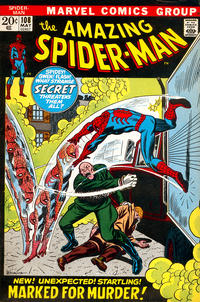 Cover Thumbnail for The Amazing Spider-Man (Marvel, 1963 series) #108 [Regular Edition]