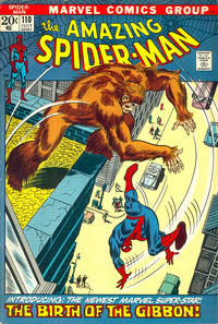 Cover Thumbnail for The Amazing Spider-Man (Marvel, 1963 series) #110 [Regular Edition]