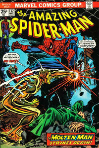 Cover Thumbnail for The Amazing Spider-Man (Marvel, 1963 series) #132