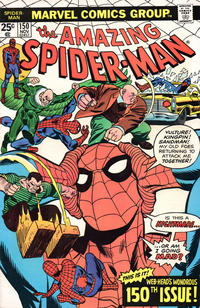Cover Thumbnail for The Amazing Spider-Man (Marvel, 1963 series) #150