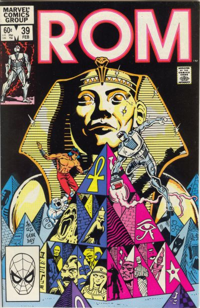 Cover for ROM (Marvel, 1979 series) #39 [Direct Edition]