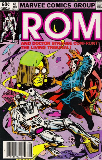 Cover for ROM (Marvel, 1979 series) #41 [Newsstand Edition]