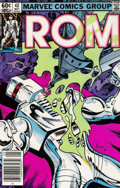 Cover for ROM (Marvel, 1979 series) #42 [Newsstand Edition]