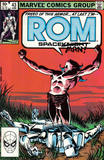 Cover for ROM (Marvel, 1979 series) #43 [Direct Edition]