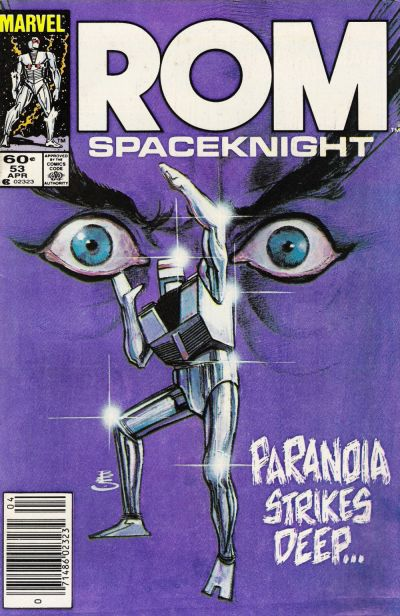 Cover for ROM (Marvel, 1979 series) #53 [Newsstand Edition]