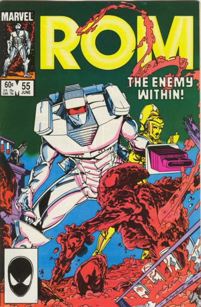Cover for ROM (Marvel, 1979 series) #55 [Direct Edition]