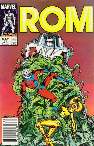 Cover for ROM (Marvel, 1979 series) #58 [Direct Edition]