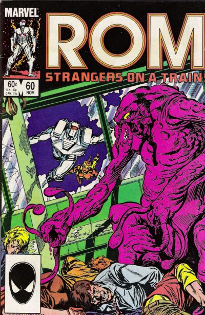Cover for ROM (Marvel, 1979 series) #60 [Direct Edition]