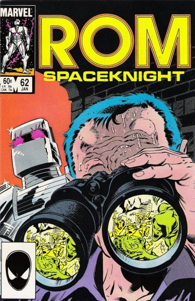 Cover for ROM (Marvel, 1979 series) #62 [Direct Edition]