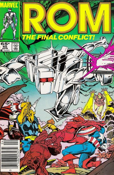 Cover for ROM (Marvel, 1979 series) #65 [Newsstand Edition]