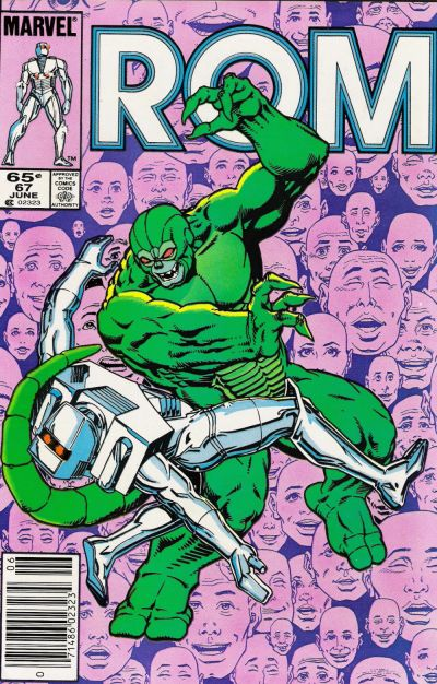 Cover for ROM (Marvel, 1979 series) #67 [Direct Edition]
