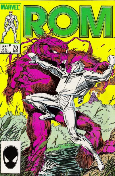 Cover for ROM (Marvel, 1979 series) #70 [Direct Edition]