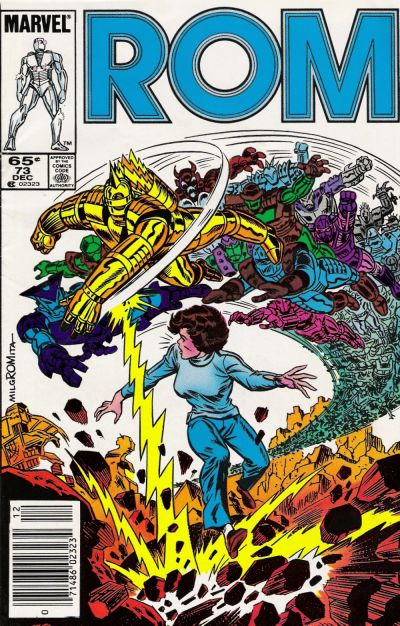 Cover for ROM (Marvel, 1979 series) #73 [Newsstand Edition]