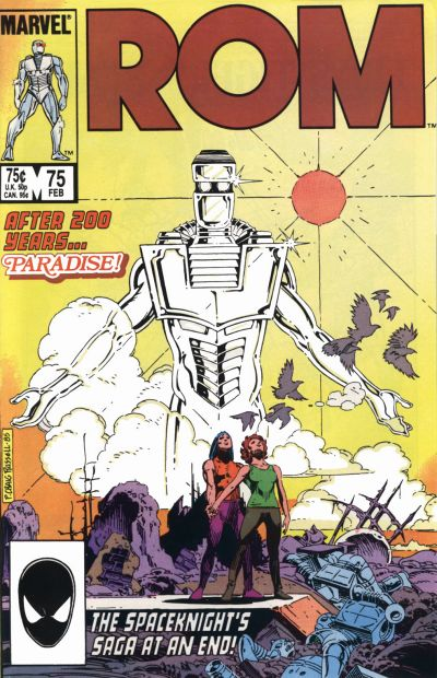 Cover for ROM (Marvel, 1979 series) #75 [Direct Edition]
