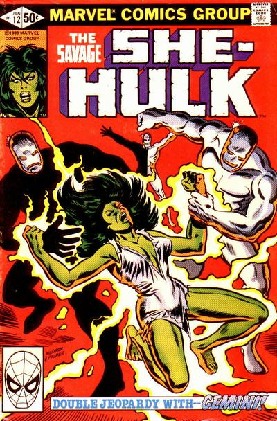 Cover for The Savage She-Hulk (Marvel, 1980 series) #12