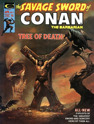 Cover for The Savage Sword of Conan (Marvel, 1974 series) #5