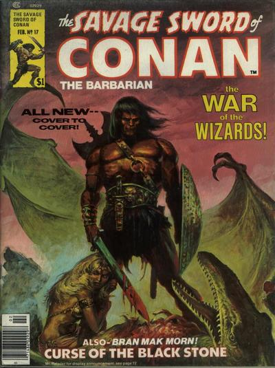 Cover for The Savage Sword of Conan (Marvel, 1974 series) #17