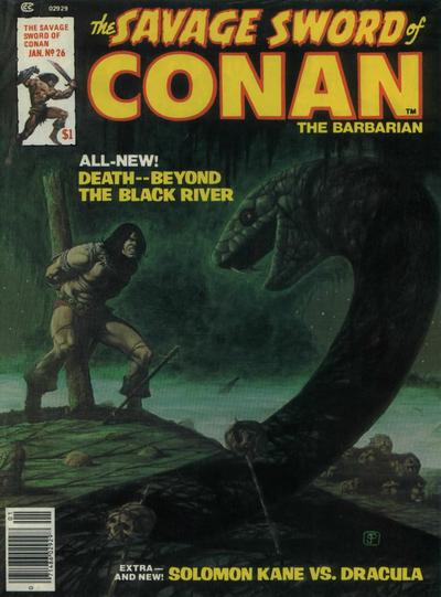 Cover for The Savage Sword of Conan (Marvel, 1974 series) #26