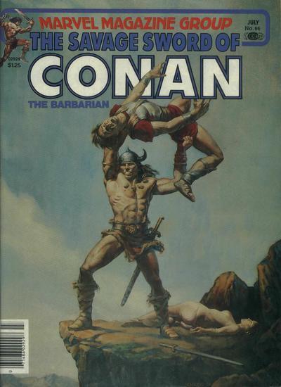Cover for The Savage Sword of Conan (Marvel, 1974 series) #66