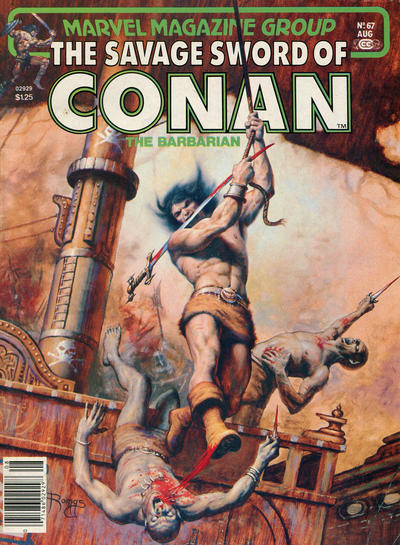 Cover for The Savage Sword of Conan (Marvel, 1974 series) #67