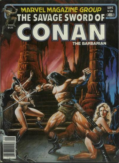 Cover for The Savage Sword of Conan (Marvel, 1974 series) #68