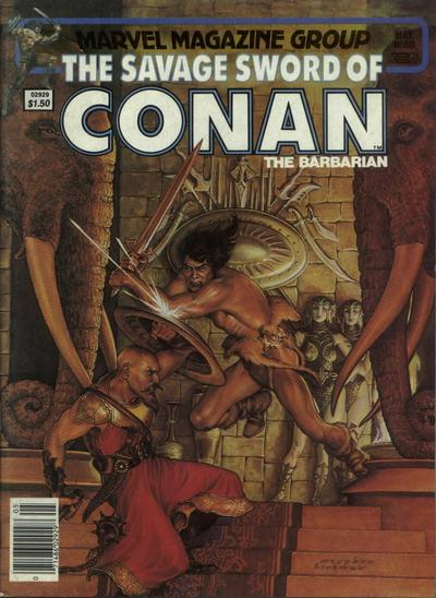 Cover for The Savage Sword of Conan (Marvel, 1974 series) #88