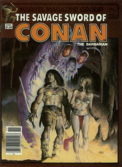 Cover for The Savage Sword of Conan (Marvel, 1974 series) #94