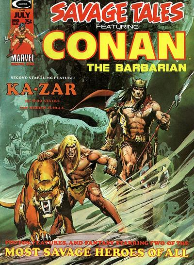 Cover for Savage Tales (Marvel, 1971 series) #5