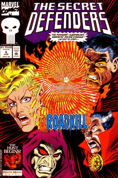 Cover for The Secret Defenders (Marvel, 1993 series) #4