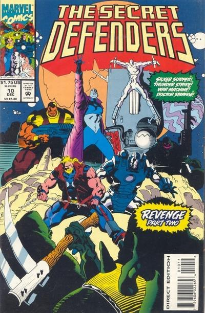 Cover for The Secret Defenders (Marvel, 1993 series) #10