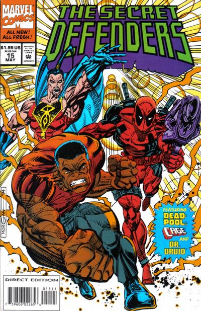 Cover for The Secret Defenders (Marvel, 1993 series) #15