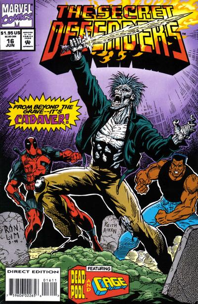 Cover for The Secret Defenders (Marvel, 1993 series) #16