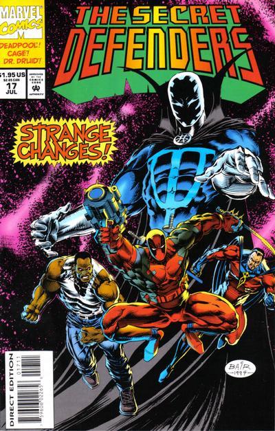 Cover for The Secret Defenders (Marvel, 1993 series) #17