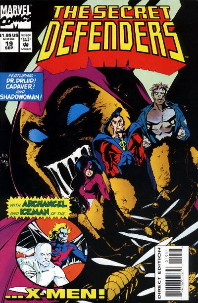 Cover for The Secret Defenders (Marvel, 1993 series) #19