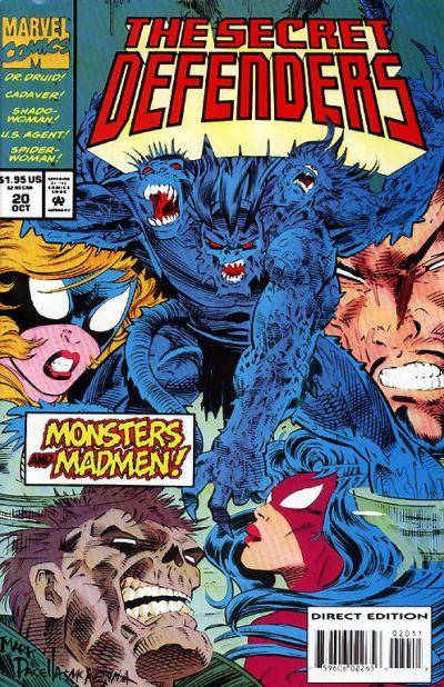 Cover for The Secret Defenders (Marvel, 1993 series) #20
