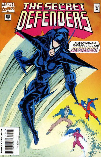 Cover for The Secret Defenders (Marvel, 1993 series) #22