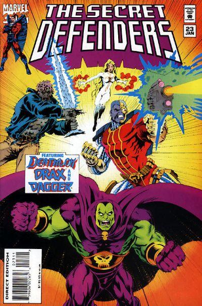 Cover for The Secret Defenders (Marvel, 1993 series) #23