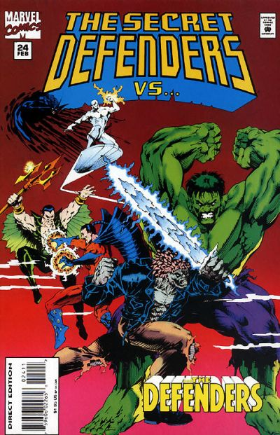 Cover for The Secret Defenders (Marvel, 1993 series) #24