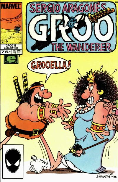 Cover for Sergio Aragonés Groo the Wanderer (Marvel, 1985 series) #18 [Direct]