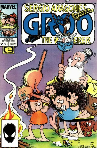 Cover for Sergio Aragonés Groo the Wanderer (Marvel, 1985 series) #20 [Direct Edition]