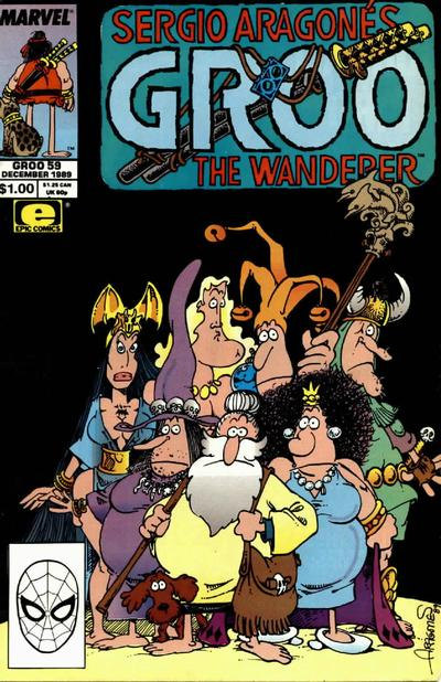 Cover for Sergio Aragonés Groo the Wanderer (Marvel, 1985 series) #59 [Direct Edition]