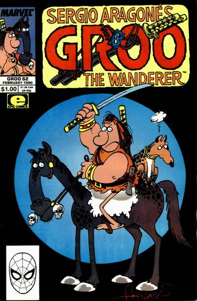 Cover for Sergio Aragonés Groo the Wanderer (Marvel, 1985 series) #62 [Direct Edition]