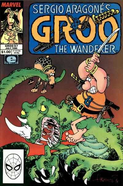 Cover for Sergio Aragonés Groo the Wanderer (Marvel, 1985 series) #67 [Direct Edition]