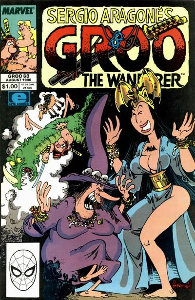 Cover for Sergio Aragonés Groo the Wanderer (Marvel, 1985 series) #68 [Direct Edition]