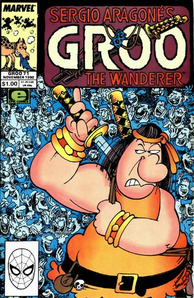 Cover for Sergio Aragonés Groo the Wanderer (Marvel, 1985 series) #71 [Direct Edition]