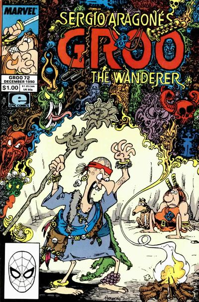 Cover for Sergio Aragonés Groo the Wanderer (Marvel, 1985 series) #72 [Direct Edition]