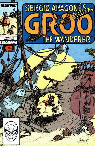 Cover for Sergio Aragonés Groo the Wanderer (Marvel, 1985 series) #76 [Direct Edition]