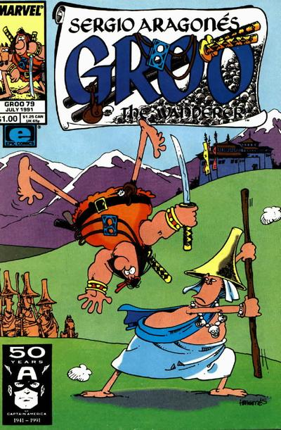 Cover for Sergio Aragonés Groo the Wanderer (Marvel, 1985 series) #79 [Direct Edition]