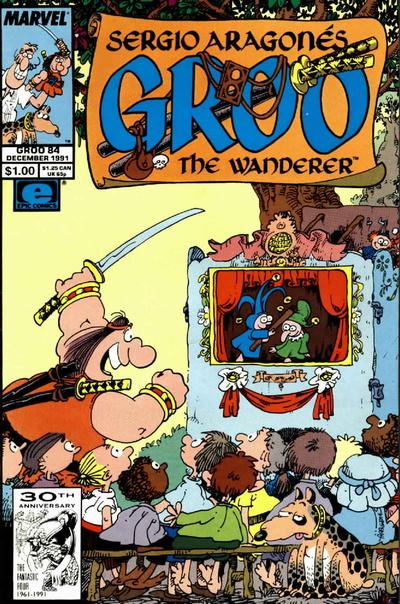 Cover for Sergio Aragonés Groo the Wanderer (Marvel, 1985 series) #84 [Direct Edition]
