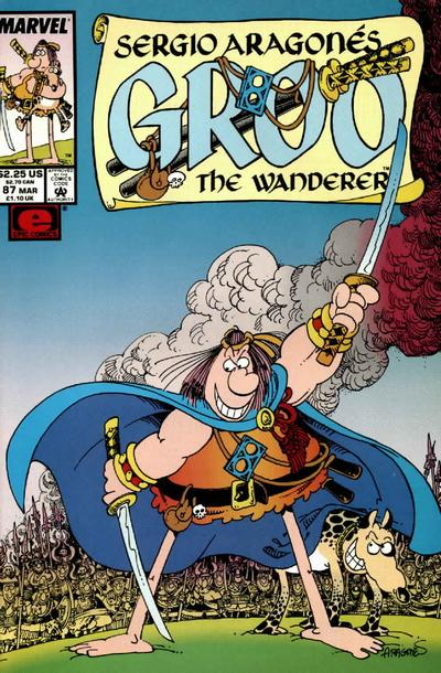 Cover for Sergio Aragonés Groo the Wanderer (Marvel, 1985 series) #87 [Direct Edition]